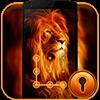 Тема CM Security Огненный лев