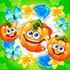 Скачать Веселый огород три в ряд на андроид бесплатно