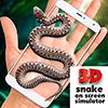 Скачать Змея в руке Joke - iSnake на андроид бесплатно