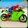 Spider Motorbike Rider