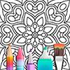 Скачать Мандала Книжка-раскраска на андроид