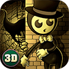 Hello Bendy Machine Five Horror Night