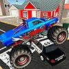 Скачать Monster Truck Racing - полицейский город Чейз на андроид бесплатно