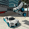 Скачать Flying Car Robot Flight Drive Simulator Game 2017 на андроид
