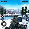 Скачать Зимняя гора Снайпер - Современная стрельба на андроид