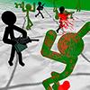 Стикман против зомби 3D