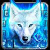 Тема для клавиатуры Surreal Wolf