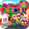 My Pretend House - Kids Family & Dollhouse Games