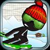Скачать Stickman Ski Racer на андроид