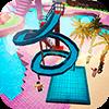 Скачать Аквапарк Крафт 3D приключение на водных горках на андроид бесплатно