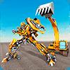 Трансформация робота-экскаватора: трансформирующий
