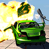 Car Explosion Engine Crash Car