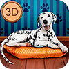 Скачать My Dalmatian Dog Sim - Home Pet Life на андроид