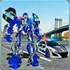 Полиция США: реальный робот-трансформер игра-робот