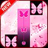 Скачать Розовая бабочка Фортепианная плитка 2018 на андроид бесплатно