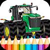 Трактора Игра Раскраска