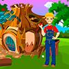 Young Farmer Rescue Best Escape Game-322