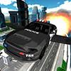Погоня летающих авто полиции