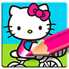 Hello Kitty Coloring Book - Cute Drawing Game