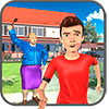Виртуальный Neighbor High School Bully Boy Game