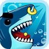 Angry Shark Evolution - Idle Cute Clicker Tap Game
