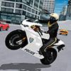 Police Motorbike City Driving