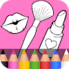 Beauty Coloring Pages for Kids