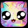 Скачать Клавиатура Galaxy Kitty Emoji на андроид