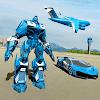 Полицейская игра-робот - Полицейский самолет