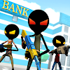 Скачать Bank Robbery Royale - Battle Simulator на андроид бесплатно