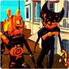 Cute Bendy And The Projectionist