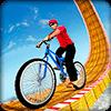 Невозможные велосипедные гонки BMX