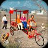 Скачать Внедорожный велосипед Rickshaw Driving Sim на андроид