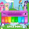 Маленькое пони Piano - Rainbow Dash