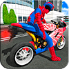 Bike Super Hero Stunt Driver Racing