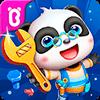 Скачать Мастерская игрушек  маленькой панды на андроид