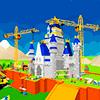 Скачать Замок Строительство Строительство игры Кран и погрузчик на андроид бесплатно