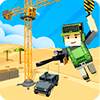 Скачать Army Craft: Build & Battle Blocky World Defense на андроид
