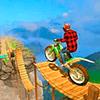 мотоциклный трюк Гонки бесплатно