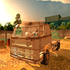 Вождение грузовик Опасный путь