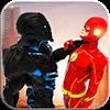 Flash Speedsters- Superhero Wall Run- flash games