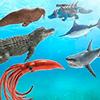 Морской монстр эпическая битва: новая битва симуля