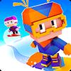 Скачать Blocky Snowboarding на андроид бесплатно