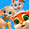 Скачать Garden Pets - бесплатная игра 3 в ряд на андроид