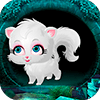 Cute White Cat Rescue Game 2018 - Best Escape 426