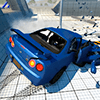 Car Crash Test Skyline