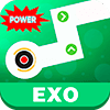 Скачать EXO Dancing Line: KPOP Music Dance Line Tiles Game на андроид