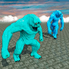 Real Monster Game Fights Sim 2018