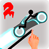 Stickman Racer Road Draw 2 Heroes