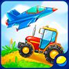 Транспорт для малышей - развивающая игра для детей